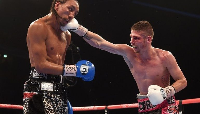 Chris Jenkins battles to a draw with Tyrone Nurse