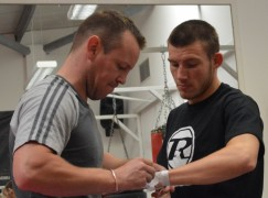 Liam Williams forces Ronnie Heffron to submit in breakthrough bout