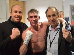 Robbie Turley triumphs over Jamie Speight in British title eliminator