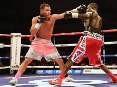 Evans lands dream rematch against champion Eggington