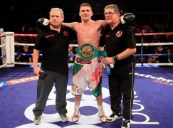 Jenkins aiming to make up for lost time with British belt