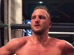 Dale Evans shines in Scotland with knockout win to become mandatory challenger for the British title