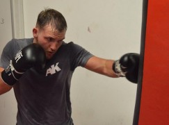 Dale Evans feeling the benefit of being a full time fighter for Towell test