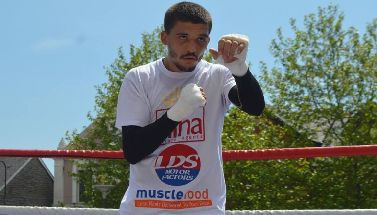 Selby to complete training camp in California for American debut against Montiel
