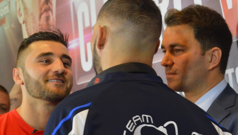 Photos: Cleverly-Bellew press conference