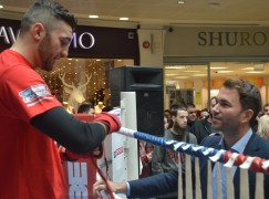 Hearn: Cleverly is calm and Bellew's fuse is getting shorter