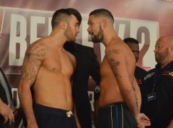 Photos: Cleverly vs Bellew 2 weigh-in