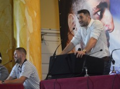 Cleverly-Bellew II Cardiff presser in pictures