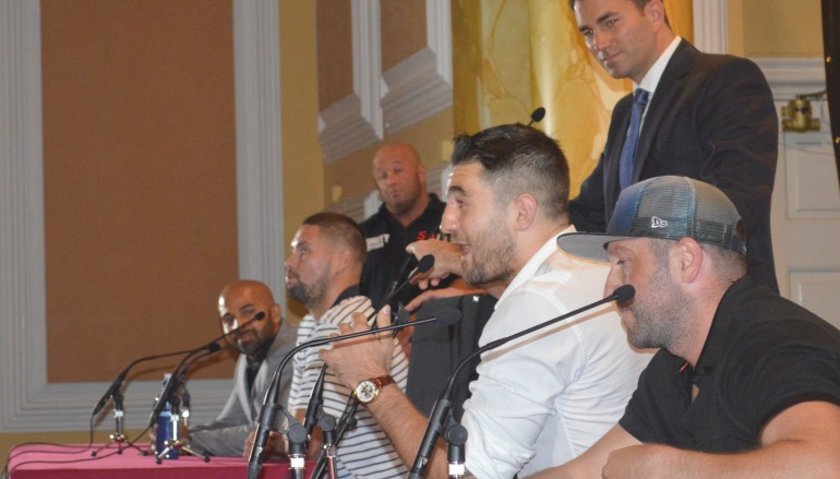 Cleverly and Bellew clash again at press conferences (Video)