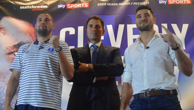 Hearn managing being the man in the middle of Cleverly-Bellew II