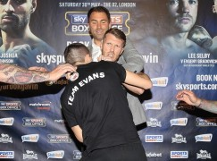 Fight week update: Evans and Cardle clash at presser