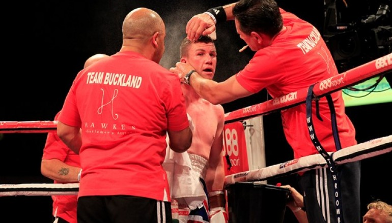 Buckland upset by Dodd and retires in the aftermath