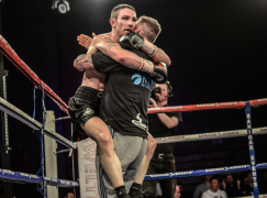 Chris Ware knocks out Frankie Borg to win Welsh title