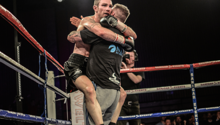 Ware wins Welsh Area title in war with Borg