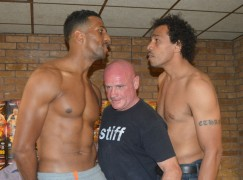 Kennedy and Fry share tense weigh-in