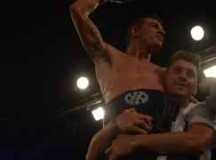 Davies defeats Lane for title; one step closer to British title dream