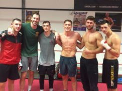 Nick Blackwell's stablemates go the extra-mile to raise funds for injured warrior