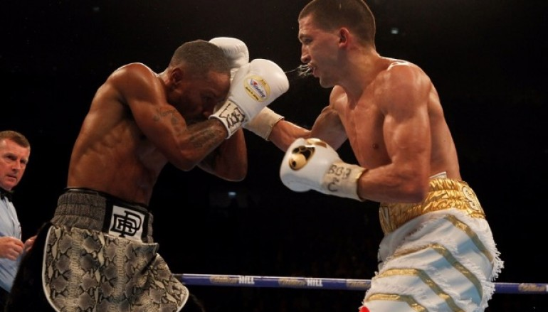 Lee Selby recovers from heavy Eric Hunter knockdown to retain world title