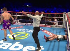 Doran destroys Keeler in classic four minute war