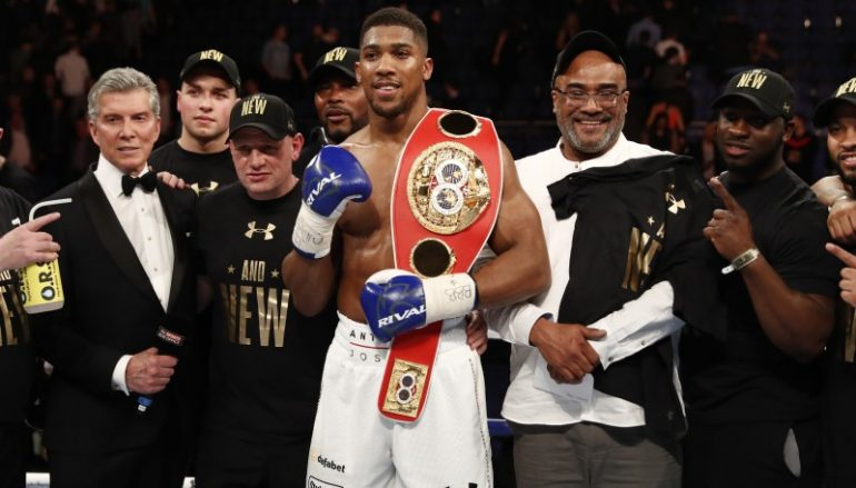 Anthony Joshua won't be fighting at the Principality Stadium for now and Hearn signals the end of Selby relationship