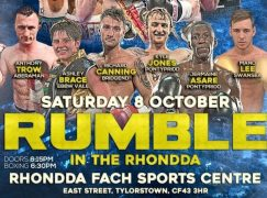 Preview: Sanigar Events present Rumble In The Rhondda