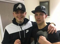 Alex 'Good News' Hughes back with confident shut-out of Harry Matthews