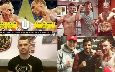 News Notes 12: Sanigar and Cyclone switch shows, Kody Davies leaves Team GB, Matchroom sign McGoldrick, Williams and Hughes train in Vegas and Clev calls out Badou Jack