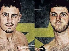 Stuart Brewer and Ricky Rowlands get the ball rolling for new era at Arthur's Gym