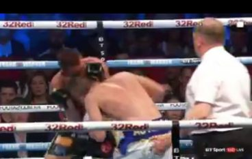 Liam Williams loses to Liam Smith in controversial circumstances as referee misses crucial head clash