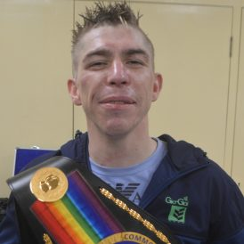 Robbie Turley achieves decade long dream with Commonwealth KO