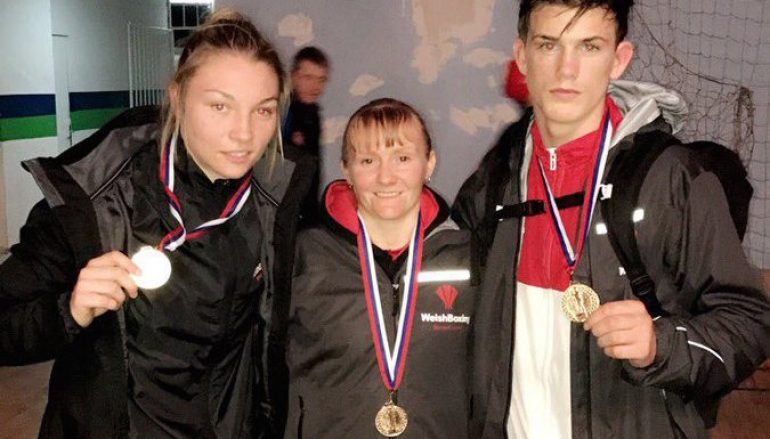 Wales win three gold medals at the 2017 GB Championships in Cardiff