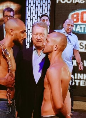 Part Three: Dale Evans planning 'rough, tough, horrible night' for Bradley Skeete