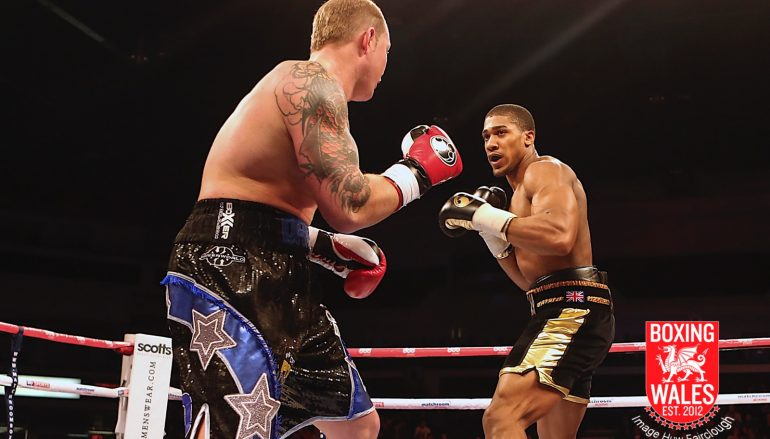 Dorian Darch reflects on an unforgettable four minute with Anthony Joshua