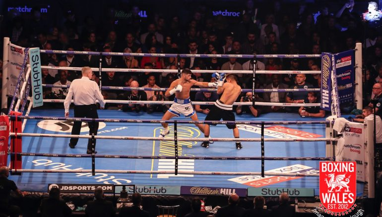 Joe Cordina cruises to straightforward win on Cardiff homecoming