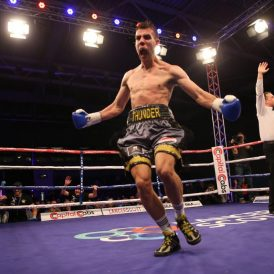 Thorley thunders to second round stoppage of Asare to win Welsh light-heavyweight title
