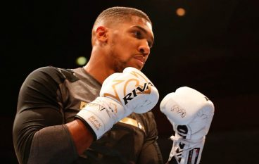 OPEN WORKOUT: Anthony Joshua, Joseph Parker and supporting undercard hold warm-up workout for Cardiff fans