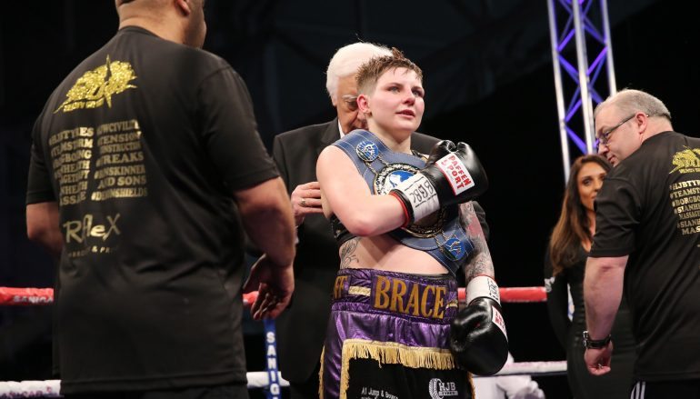 Ashley Brace makes history with European title win