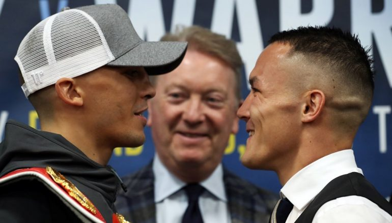 PREVIEW: World champion Lee Selby must continue to keep his cool amidst Warrington's verbal onslaught