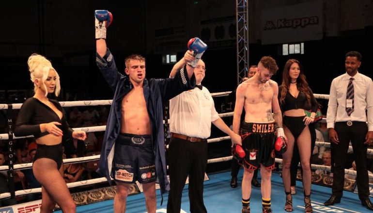 Kieran Gething collects close decision against Craig Woodruff in Welsh title defence
