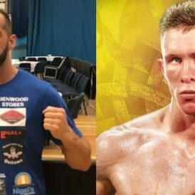 Angelo Dragone and Kristian Touze both win to set up a super-featherweight Welsh title fight