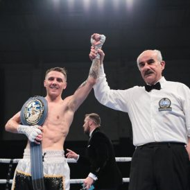 Jay Harris makes statement by dominating Angel Moreno to secure European glory