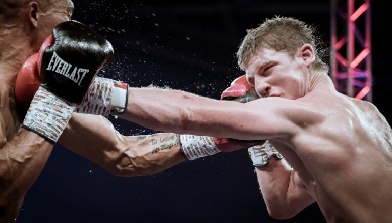 Morgan Jones climbs off the canvas to edge Jake Anthony and capture Welsh title